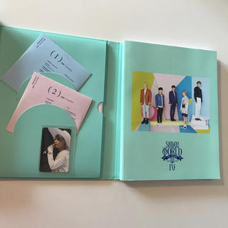 シャイニー(SHINee)のSHINee World Ⅳ CD 未再生 ポスター トレカ テミン 付(K-POP/アジア)