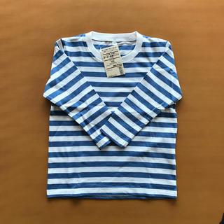 ムジルシリョウヒン(MUJI (無印良品))の無印 ボーダー長袖Tシャツ(Tシャツ/カットソー)