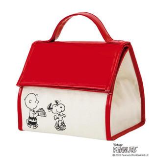 ピーナッツ(PEANUTS)のInRed インレッド 2020年5月号 付録  スヌーピーの保冷バッグ(弁当用品)