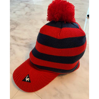 ルコックスポルティフ(le coq sportif)のゴルフニット帽(ニット帽/ビーニー)