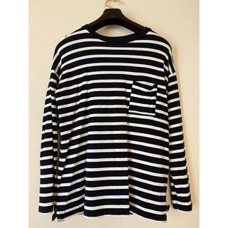 ユナイテッドアローズ(UNITED ARROWS)のボーダーロンティー(Tシャツ/カットソー(七分/長袖))