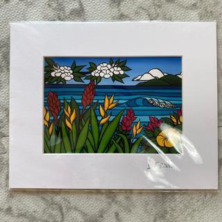 ロンハーマン(Ron Herman)の本日限定価格♡Heather Brown flowers of Hawaii(絵画/タペストリー)