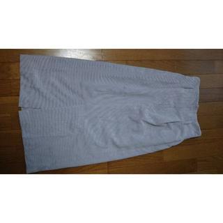 ミスティウーマン(mysty woman)のミスティウーマン コーデュロイスカート フリーサイズ(ロングスカート)