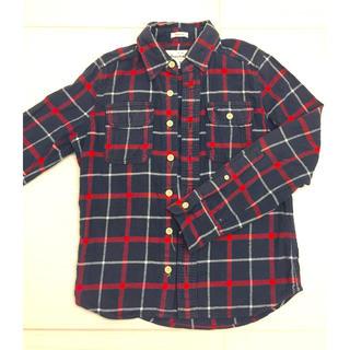 アバクロンビーアンドフィッチ(Abercrombie&Fitch)のアバクロンビーアンドフィッチキッズ ボーイズ ネルシャツ サイズS(ジャケット/上着)