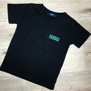 ロデオクラウンズワイドボウル(RODEO CROWNS WIDE BOWL)の①RODEO CROWNS KIDS*ロゴTシャツ Mサイズ(Tシャツ/カットソー)