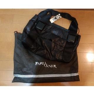 パピヨネ(PAPILLONNER)のPAPILL ONNER  パピヨネ 未使用品 バッグ タグ付き ブラック(ショルダーバッグ)