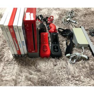Wii - ⭐️wii セット 人気ソフト5本付き⭐️