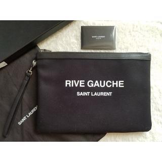 サンローラン(Saint Laurent)のSAINT LAURENT サンローラン Rive Gauche クラッチバッグ(セカンドバッグ/クラッチバッグ)