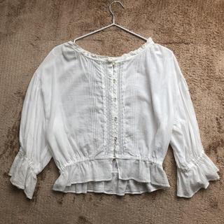 ダブルクローゼット(w closet)のブラウス w closet(シャツ/ブラウス(半袖/袖なし))
