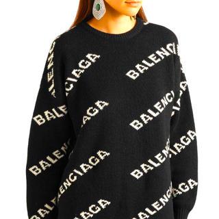 バレンシアガ(Balenciaga)の☆BALENCIAGA ロゴセーター☆(ニット/セーター)