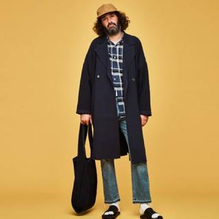 コモリ(COMOLI)のYASHIKI Samidare Knit Coat(チェスターコート)