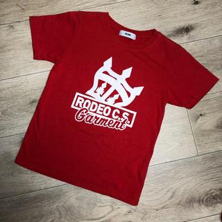 ロデオクラウンズワイドボウル(RODEO CROWNS WIDE BOWL)の⑤RODEO CROWNS KIDS*Tシャツ Lサイズ(Tシャツ/カットソー)