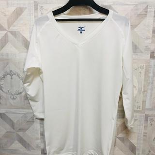 ミズノ(MIZUNO)のMIZUNO ミズノ レディース  医療 介護 7分袖 LLサイズ(Tシャツ(長袖/七分))
