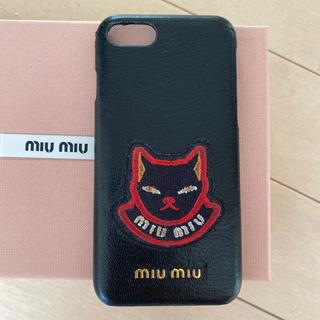 ミュウミュウ(miumiu)のミュウミュウ  iPhoneケース 6S対応 miumiu (iPhoneケース)