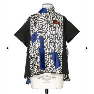 サカイ(sacai)のsacaiトップスプルオーバー(シャツ/ブラウス(半袖/袖なし))