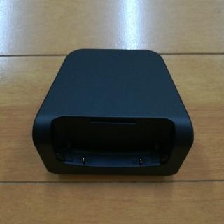 新品 NTT ドコモ 卓上ホルダ N46 携帯電話 充電器 N-01G用(バッテリー/充電器)