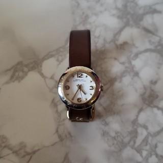 マークバイマークジェイコブス(MARC BY MARC JACOBS)のMARC BY MARCJACOBS 腕時計 ブラウン 稼働中(腕時計)