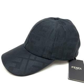 フェンディ(FENDI)の新品 20-21AW FENDI FFロゴ シルク キャップ フェンディ(キャップ)