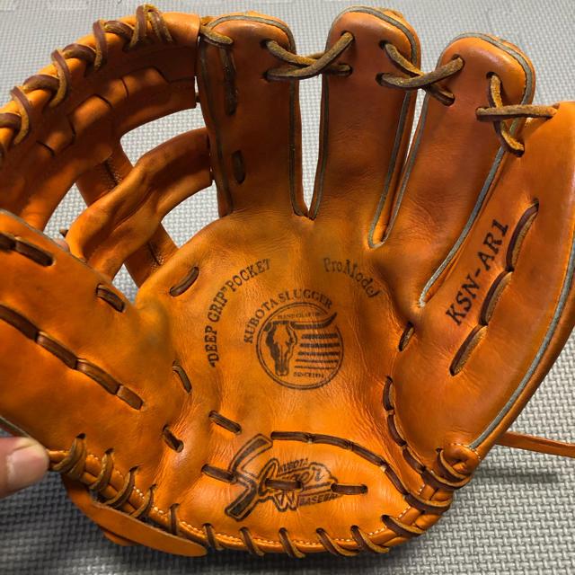 久保田スラッガー(クボタスラッガー)の久保田スラッガー 軟式 内野手用 スポーツ/アウトドアの野球(グローブ)の商品写真