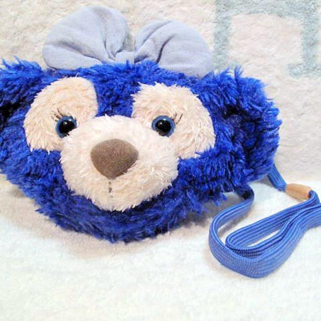 ダッフィー(ダッフィー)の■染色ダッフィー シェリーメイ ブルー コインケース エンタメ/ホビーのおもちゃ/ぬいぐるみ(ぬいぐるみ)の商品写真