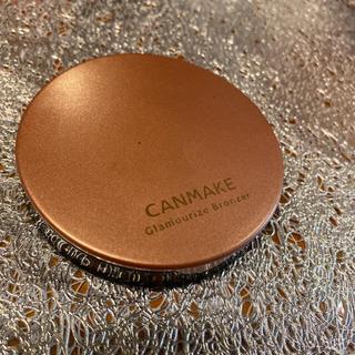 キャンメイク(CANMAKE)のCANMAKE キャンメイク グラマライズブロンサー 01 ココナッツブロンズ(ファンデーション)
