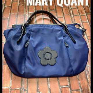 マリークワント(MARY QUANT)のマリークワント レディース ハンドバッグ ネイビー(ハンドバッグ)