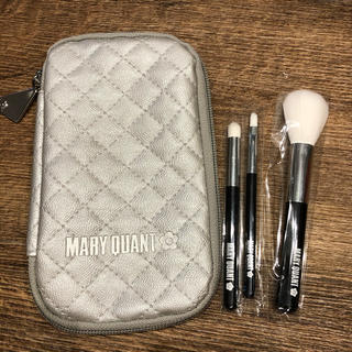 MARY QUANT - MARY QUANT  ブラシ&ケースセット 新品未使用