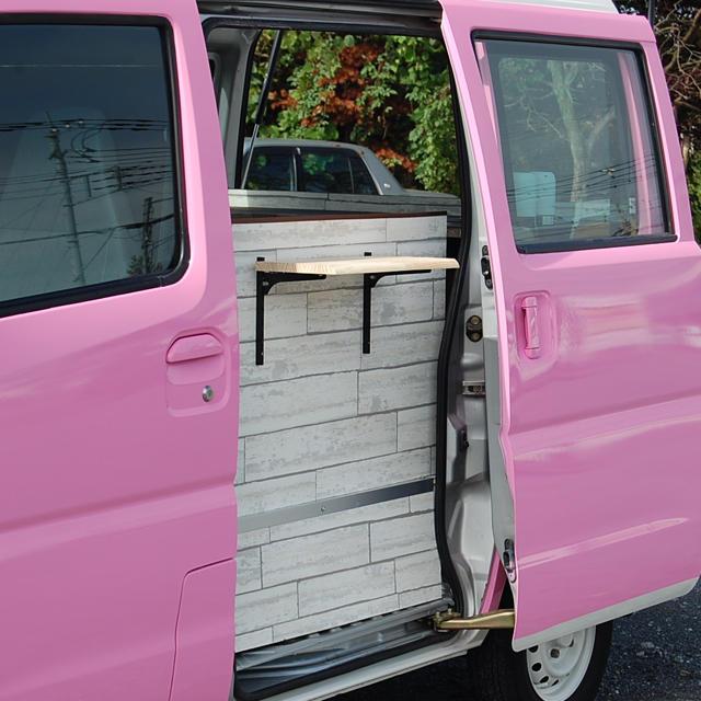三菱(ミツビシ)の移動販売車 キッチンカー 自動車/バイクの自動車(車体)の商品写真