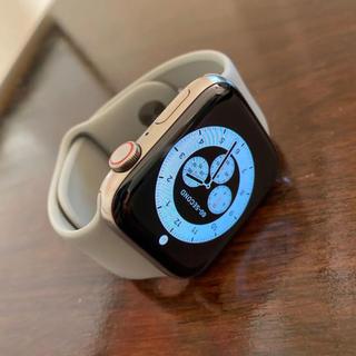 アップルウォッチ(Apple Watch)のApple Watch Edition series5 44mm(腕時計(デジタル))