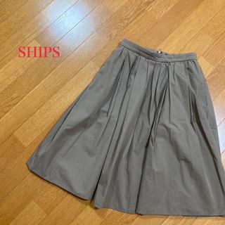 シップス(SHIPS)のSHIPS♡スカート(ひざ丈スカート)
