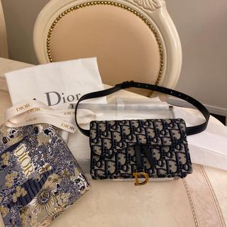クリスチャンディオール(Christian Dior)の追加画像 新品未使用 ディオール オブリーク サドル ベルトポーチ(ベルト)