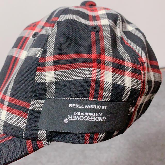 N.HOOLYWOOD(エヌハリウッド)のN.HOOLYWOOD × UNDERCOVER コラボキャップ メンズの帽子(キャップ)の商品写真