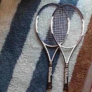 ウィルソン(wilson)のwilsonテニスラケット2本+硬式ボール3個セット(ラケット)