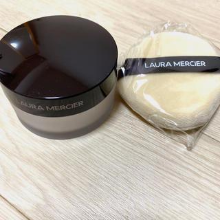 laura mercier - ルースセッティングパウダー トランスルーセント パフ付き