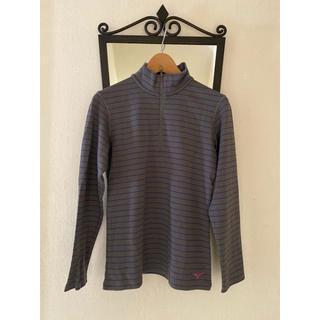 ミズノ(MIZUNO)のミズノ ブレスサーモ PP長袖ジップネックシャツ(レディース)(ウォーキング)