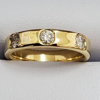 K18♡ダイヤモンドリング(リング(指輪))