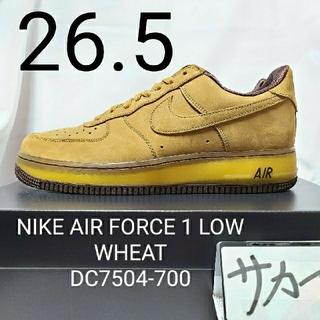 ナイキ(NIKE)の『美品』NIKE AIR FORCE 1 LOW WHEAT エアフォース(スニーカー)