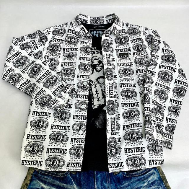 JOEY HYSTERIC(ジョーイヒステリック)のJOEY HYSTERIC 総柄 ウェスタンシャツ キッズ/ベビー/マタニティのキッズ服男の子用(90cm~)(Tシャツ/カットソー)の商品写真