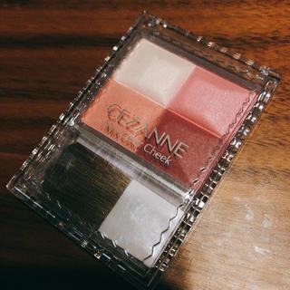 セザンヌケショウヒン(CEZANNE(セザンヌ化粧品))の新品 セザンヌ ミックスカラーチーク 04 ローズ系 チーク(チーク)