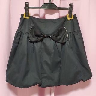 ハニーミーハニー(Honey mi Honey)のHONEY MI HONEY バックリボンバルーンスカート(ミニスカート)