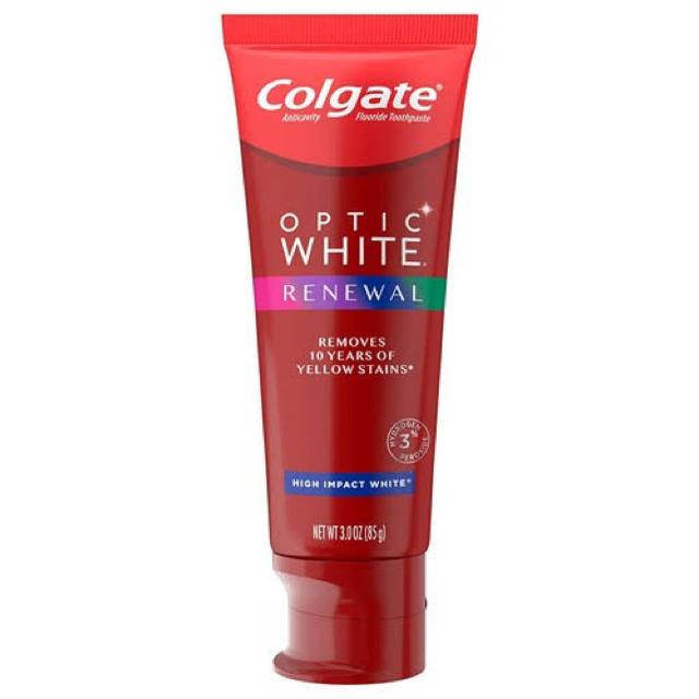Crest(クレスト)のコルゲート オプティックホワイト 85g 大きいサイズ! コスメ/美容のオーラルケア(歯磨き粉)の商品写真
