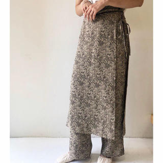 トゥデイフル(TODAYFUL)のharu様 todayful Jacquard Layered Pants (カジュアルパンツ)