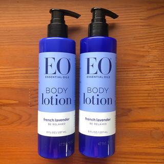 イーオー(EO)の【新品】EO イーオー ボディローション フレンチラベンダー 2本(ボディローション/ミルク)