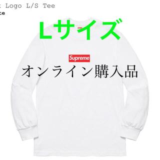シュプリーム(Supreme)のSupreme Box Logo L/S Tee シュプリーム  ボックスロゴ(Tシャツ/カットソー(七分/長袖))