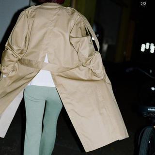 サンシー(SUNSEA)のsoduk trench coat 20ss(トレンチコート)