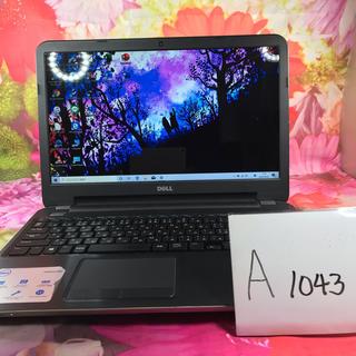 デル(DELL)の(A1043)Dellノートパソコン本体 inspiron 5537(ノートPC)