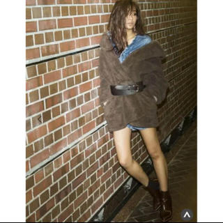 ジェイダ(GYDA)のジェイダ GYDA ボアコート コート(毛皮/ファーコート)