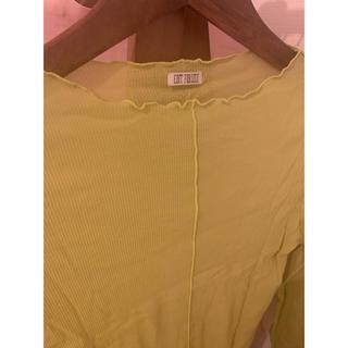 エディットフォールル(EDIT.FOR LULU)のシアーシャツ(Tシャツ(長袖/七分))
