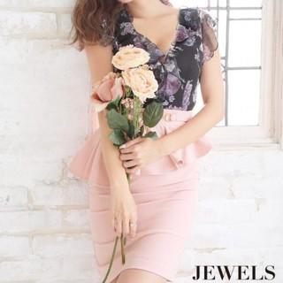 JEWELS - JEWELS キャバ ドレス ペプラム