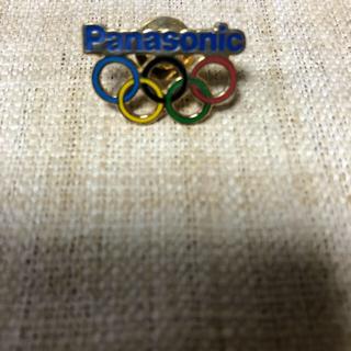 パナソニック(Panasonic)の【半額セール】     激レア パナソニック  オリンピックバッジ(ノベルティグッズ)